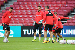 August 31, 2017 - Copenhagen, Denmark - Jakub Blaszczykowski (POL), during training session before FIFA World Cup 2018 qualifier MD-1 between Denmark and Poland at Parken Stadium in Copenhagen, Denmark on 31 August 2017. (Credit Image: © Foto Olimpik/NurPhoto via ZUMA Press)