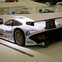 Porsche GT1-98, that won Le Mans 24H in 1998, here at the Porsche Museum in Stuttgart