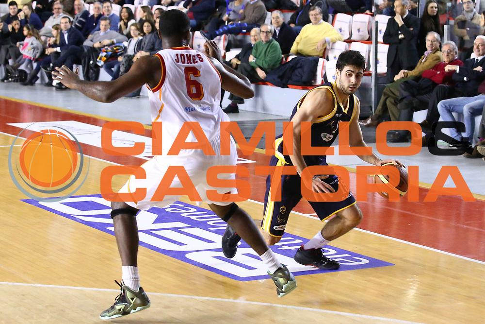 DESCRIZIONE : Roma Campionato Lega A 2013-14 Acea Virtus Roma Sutor Montegranaro<br /> GIOCATORE : Mitrovic Nemanja <br /> CATEGORIA : palleggio<br /> SQUADRA : Sutor Montegranaro<br /> EVENTO : Campionato Lega A 2013-2014<br /> GARA : Acea Virtus Roma Sutor Montegranaro<br /> DATA : 18/01/2014<br /> SPORT : Pallacanestro<br /> AUTORE : Agenzia Ciamillo-Castoria/M.Simoni<br /> Galleria : Lega Basket A 2013-2014<br /> Fotonotizia : Roma Campionato Lega A 2013-14 Acea Virtus Roma Sutor Montegranaro<br /> Predefinita :
