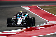 October 19-22, 2017: United States Grand Prix. Lance Stroll, Williams Martini Racing, FW40