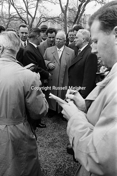 March,1960. Khrushchev's visited Marseille,France.<br />