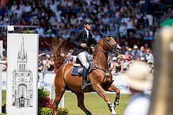 KÖLZ Michael (GER), DSP Anpowikapi<br /> Aachen - CHIO 2018<br /> Rolex Grand Prix 1. Umlauf<br /> Der Grosse Preis von Aachen<br /> 22. Juli 2018<br /> © www.sportfotos-lafrentz.de/Stefan Lafrentz