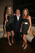LISA HENREKSON, CARLOS AMARA AND NATHALIE BOMGREN, Lucy Yeomans Editor of Harper's Bazaar and Moet and Chandon host the Gold Party. 17 Berkeley St. London W1. 1 November 2007. -DO NOT ARCHIVE-© Copyright Photograph by Dafydd Jones. 248 Clapham Rd. London SW9 0PZ. Tel 0207 820 0771. www.dafjones.com.