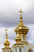 The Church at Peterhof Palace, St. Petersburg, Russia
