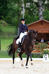 Afanasieva Polina (RUS) - Kleppenhus Seabiscuit<br /> FEI European Dressage Championship Young Riders - Bern 2012<br /> © Hippo Foto - Leanjo de Koster