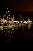 Seilb&aring;ter i sm&aring;b&aring;thavnen i N&oslash;rvevika p&aring; N&oslash;rve i &Aring;lesund kommune.<br /> <br /> Sailboats in the marina at N&oslash;rvevika in Aalesund.<br /> <br /> Foto: Svein Ove Ekornesv&aring;g