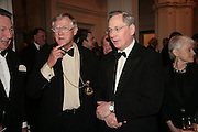 President of the Royal Academy Sir Nicholas Grimshaw and The Duke of Gloucester. The Royal Academy Schools dinner and auction. Royal Academy. London. 27 March 2007.  -DO NOT ARCHIVE-© Copyright Photograph by Dafydd Jones. 248 Clapham Rd. London SW9 0PZ. Tel 0207 820 0771. www.dafjones.com.