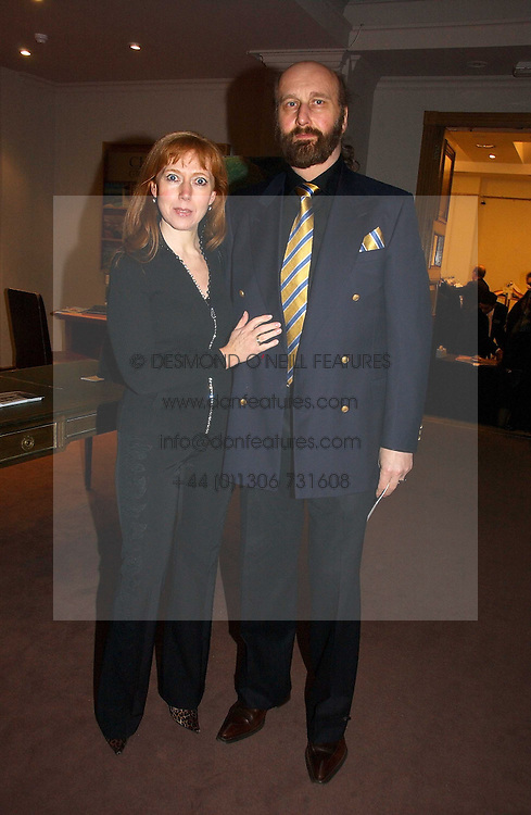 SIR PETER &amp; LADY ZALTSMAN at a private view of the forthcoming sale 'From the Collection of King George 1 of The Hellenes', held at Christie's. King Street, London on 22nd January 2007.<br /><br />NON EXCLUSIVE - WORLD RIGHTS
