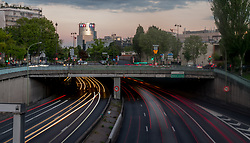 May 5, 2019 - Paris, France - Pictures of Parisian rings road in Paris, France, on 5th May 2019. The elected officials of the City Council of Parie plan to lower its speed to 50km / h and reduce the routes  (Credit Image: © Estelle Ruiz/NurPhoto via ZUMA Press)