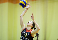 Marina Kaucic of Nova KBM Branik during volleyball match between Nova KBM Branik Maribor and OK Luka Koper in Final of Women Slovenian Cup 2014/15, on January 18, 2015 in Sempeter v Savinjski dolini, Slovenia. Photo by Vid Ponikvar / Sportida