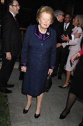 BARONESS THATCHER at the Goring Hotel Summer party, Goring Hotel, 15 Beeston Place, London on 17th September 2008.