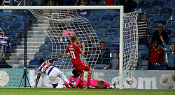 Yeni Atito Ngbakoto of Queens Park Rangers scores the opening goal against Swindon Town - Mandatory by-line: Robbie Stephenson/JMP - 10/08/2016 - FOOTBALL - Loftus Road - London, England - Queens Park Rangers v Swindon Town - EFL League Cup