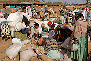 Local market of the Dorze tribe, Omovalley, Ethiopia,Africa