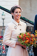 04.10.2016. Copenhagen, Denmark.  <br /> Princess Marie attended the opening session of the Danish Parliament (Folketinget) at Christiansborg Palace in Copenhagen, Denmark.<br /> Photo: &copy; Ricardo Ramirez