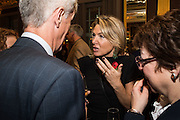 ANNALIES VAN DEN BELT;, The launch of the 1939 Register, hosted by The National Archives and Findmypast to celebrate one of the most important documents in modern British history. POMPADOUR BALLROOM, HOTEL CAFÉ ROYAL<br /> 68 Regent Street, London. 3 November 2015