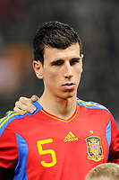 FOOTBALL - UNDER 21 - FRIENDLY GAME - FRANCE v SPAIN - 24/03/2011 - PHOTO GUILLAUME RAMON / DPPI - DANIEL SANCHEZ (SPA)