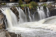 Hog's Back Falls along the Rideau River in Ottawa, Ontario, Canada. Photographed from Hog's Back Park.