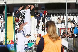 """Foto Filippo Rubin<br /> 08/04/2018 Cesena (Italia)<br /> Sport Calcio<br /> Cesena - Virtus Entella - Campionato di calcio Serie B ConTe.it 2017/2018 - Stadio """"Dino Manuzzi""""<br /> Nella foto: GOAL SCHIAVONE (CESENA)<br /> <br /> Photo by Filippo Rubin<br /> April 08, 2018 Cesena (Italy)<br /> Sport Soccer<br /> Cesena vs Virtus Entella - Italian Football Championship League B 2017/2018 - """"Dino Manuzzi"""" Stadium <br /> In the pic: GOAL SCHIAVONE (CESENA)"""