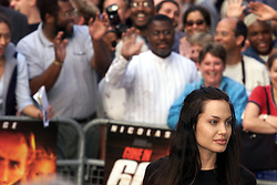 Angelina Jolie during the Gone in 60 Seconds European Premiere, July 26, 2000. Photo by Andrew Parsons / i- Images...