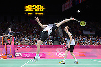 Boe and Morgensen, Denmark, Mens Doubles, Olympic Badminton London Wembley 2012