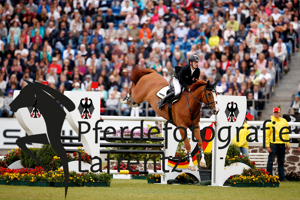 Ehning, Marcus (GER), Pret a Tout<br /> Aachen - CHIO 2017<br /> Grosser Preis von Aachen Rolex Grand Prix<br /> © www.sportfotos-lafrentz.de/Stefan Lafrentz