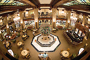 Lobby of the Peabody Hotel in Memphis, Tennessee