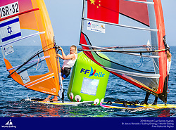Hyères, France is hosting the third round of the 2018 World Cup Series. More than 830 sailors from 46 nations, sailing in one Para World Sailing event and the ten Olympic classes will race in the French town from 22-29 April 2018 © Jesus Renedo/Sailing Energy/World Sailing