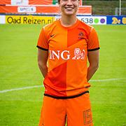 NLD/Velsen/20130701 - Selectie Nederlands Dames voetbal Elftal, Leonne Stentler