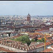 Sky line del centro storico di Torino