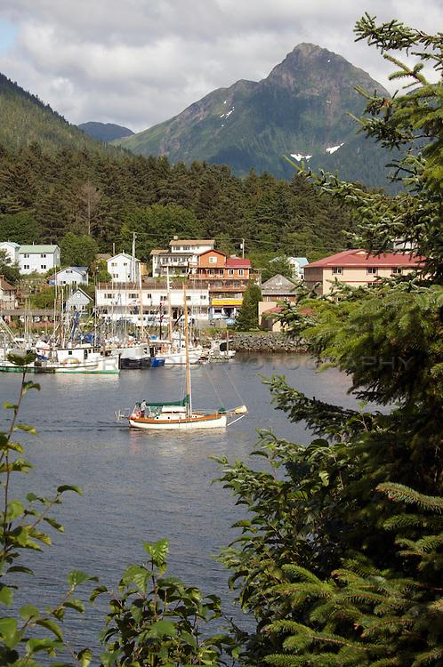 Southeast Alaska by sailboat.