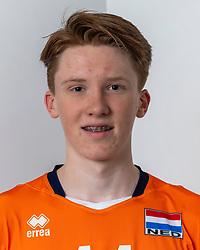 21-12-2018 NED: Photoshoot selection of Orange Young Boys, Arnhem <br /> Orange Young Boys 2018 - 2019 / Quinten Groenewold #11