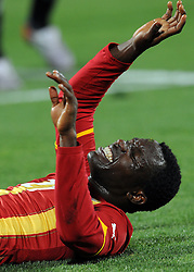 Kwadwo Asamoah (Ghana).USA Ghana - USA vs Ghana.Ottavi di finale - Round of 16 matches.Campionati del Mondo di Calcio Sudafrica 2010 - World Cup South Africa 2010.Royal Bafokeng Stadium, Rustenburg, 26 / 06 / 2010