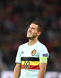 Eden Hazard of Belgium  - Mandatory by-line: Joe Meredith/JMP - 01/07/2016 - FOOTBALL - Stade Pierre Mauroy - Lille, France - Wales v Belgium - UEFA European Championship quarter final
