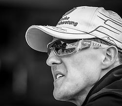 07.07.2011, Silverstone Circuit, Silverstone, GBR, Michael Schumacher im Portrait im Bild Michael Schumacher (GER), Mercedes GP Petronas F1 Team // Michael Schumacher (GER) during the Formula One Championships 2011 British Grand Prix held at the Silverstone Circuit, Northamptonshire, United Kingdom, 2011/07/07, EXPA Pictures © 2011, PhotoCredit: EXPA/ JFK