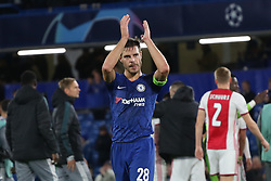 November 5, 2019: AMSTERDAM, NETHERLANDS - OCTOBER 22, 2019: Azpilicueta (Chelsea FC) pictured during the 2019/20 UEFA Champions League Group H game between Chelsea FC (England) and AFC Ajax (Netherlands) at Stamford Bridge. (Credit Image: © Federico Guerra Maranesi/ZUMA Wire)