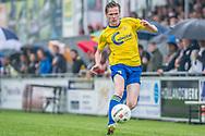 Voetbal Hoornaar Hoofdklasse B 2013-2014 SteDoCo - Staphorst: L-R Rurik Wind van Staphorst