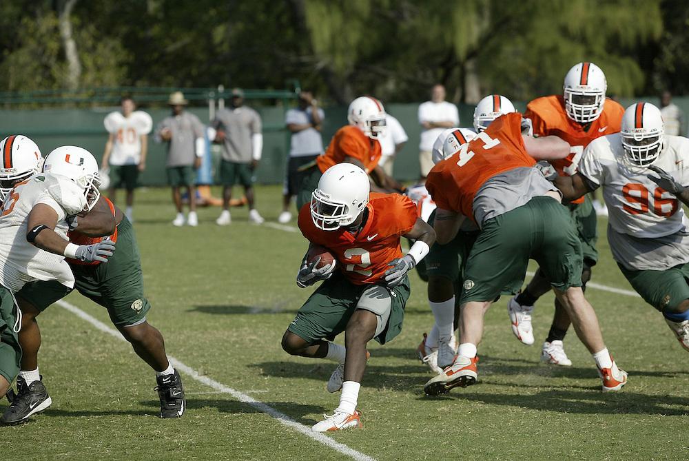 2007 Miami Hurricanes Football Spring Practice