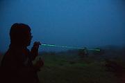 Laser Light pointer, The Big Island of Hawaii