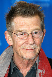 Sir JOHN HURT, CBE (22 January 1940 - 25 January 2017) was an English actor and voice actor whose career spanned six decades. He is know for his roles in: 'A Man for All Seasons' (1966), 'The Elephant Man' (1980), 'Nineteen Eighty-Four' (1984), 'The Hit' (1984), 'Scandal' (1989), 'The Naked Civil Servant' (1975), 'I, Claudius' (1976). and 'Doctor Who: Day of the Doctor' (2013). His character's final scene in 'Alien' has been named by a number of publications as one of the most memorable in cinematic history. He received two Academy Award nominations, a Golden Globe Award and four BAFTA Awards. He was knighted in 2015. PICTURED: February 11, 2009 - Berlin, Germany - Actor JOHN HURT pictured during the photo call of the film 'An Englishman in New York' at the 59th Berlin International Film Festival. (Credit Image: © Future-Image/ZUMAPRESS.com)