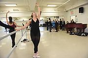 First Minister Nicola Sturgeon visits Scottish Ballet exchange program at NYU Tisch School of the Arts, Thursday, April 6, 2017, in New York