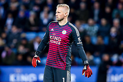 Kasper Schmeichel of Leicester City - Mandatory by-line: Robbie Stephenson/JMP - 29/12/2018 - FOOTBALL - King Power Stadium - Leicester, England - Leicester City v Cardiff City - Premier League