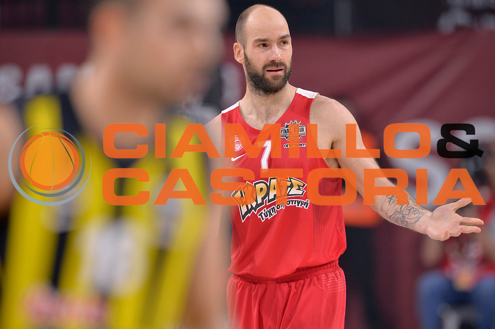 Vassilis Spanoulis<br /> Fenerbahce Istanbul - Olympiakos Piraeus<br /> Euroleague Final Four 2017<br /> Finale 1 - 2 Posto<br /> Euroleague 2016/2017<br /> Istanbul, 21/05/2017<br /> Foto M.Ceretti / Ciamillo - Castoria