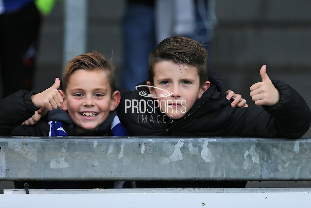 Bristol Rovers fans before the EFL Sky Bet League 1 match between Bristol Rovers and Milton Keynes Dons at the Memorial Stadium, Bristol, England on 19 November 2016. Photo by Gary Learmonth.