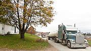 Water Trucks, Kingsley, Susquehanna County, Marcellus Shale, Pennsylvania.