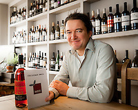 Stuart Fenn of the Panizzi Wine Bar with the popular Christmas Menu