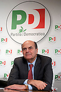 2013/01/24 Roma, il PD presenta i candidati alle politiche provenienti dal mondo dello sport. Nella fotoPier Luigi Bersani..Democratic Party presents its candidates coming from sports world. In the picture Pier Luigi Bersani