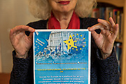London, England, Uk, March 20, 2019 - Portrait of psychotherapist Emmy Van Deurzen. Ms Van Deurzen and some of her colleagues at Existantial Academy offer free psychotherapy sessions for people suffering from Brexit.