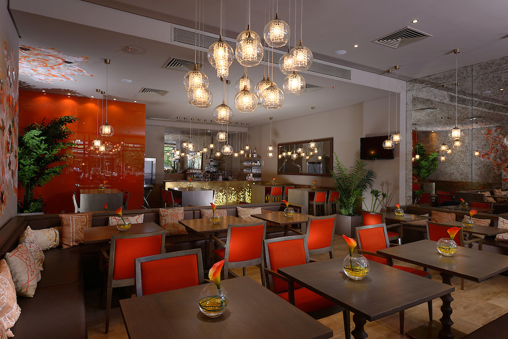 Topaz Restaurant at Arkan Mall, Sheikh Zayed | Designed by Mona Hussein