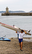 St Peter's Port, Guernsey, CHANNEL ISLANDS,  Friday, Practice day, 2006 FISA Coastal Rowing  Challenge, 01/09/2006.  Photo  Peter Spurrier, © Intersport Images,  Tel +44 [0] 7973 819 551,  email images@intersport-images.com