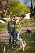 Robert and Cheryl Cosner of Upper Dry Creek Ranch in Weston, Oregon